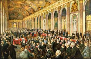 1906-ondertekening verdrag van Versailles